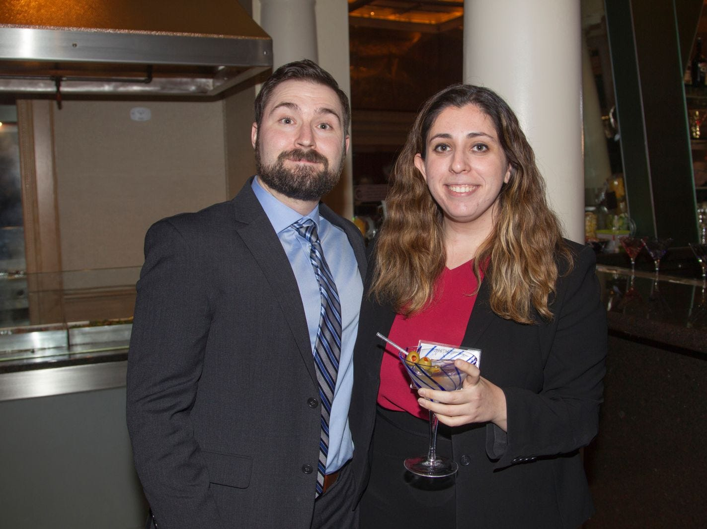 Patrick Hroncich, Rachel Ginsburg. Eva's Village hosted its second annual Lawyers, Accountants and Financial Professionals Benefit Dinner at Westmount Country Club in Woodland Park. 02/21/2019