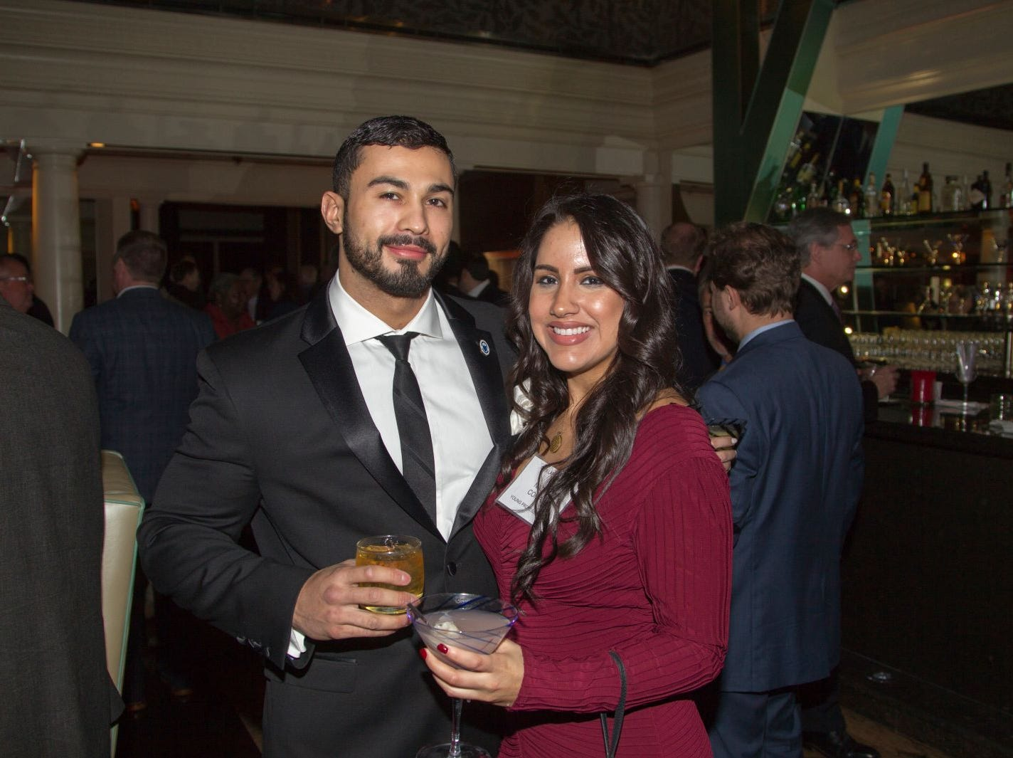 Cory Magrys, Nadya Comas. Eva's Village hosted its second annual Lawyers, Accountants and Financial Professionals Benefit Dinner at Westmount Country Club in Woodland Park. 02/21/2019