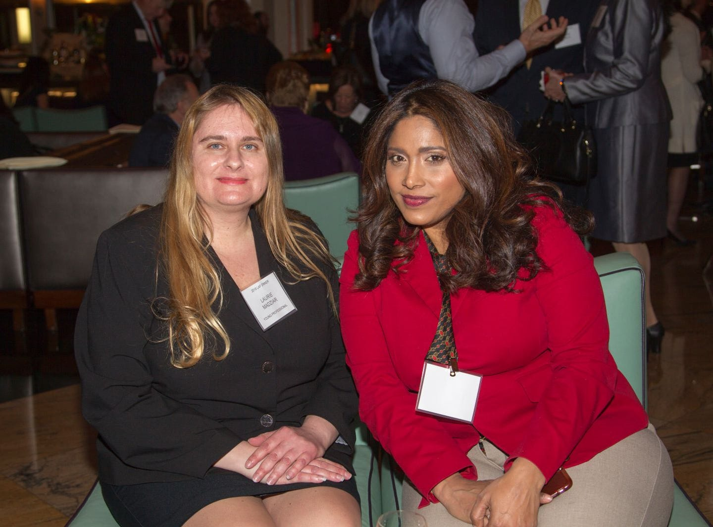 Laurie Madziar, Cindy Paul. Eva's Village hosted its second annual Lawyers, Accountants and Financial Professionals Benefit Dinner at Westmount Country Club in Woodland Park. 02/21/2019