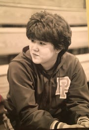 The hardest thing for Ogasawara about wrestling in 1989 for Pascack Hills was having to cut her hair. She had long hair down to her waist - not allowed by rules. She said she cried the day it was chopped off.