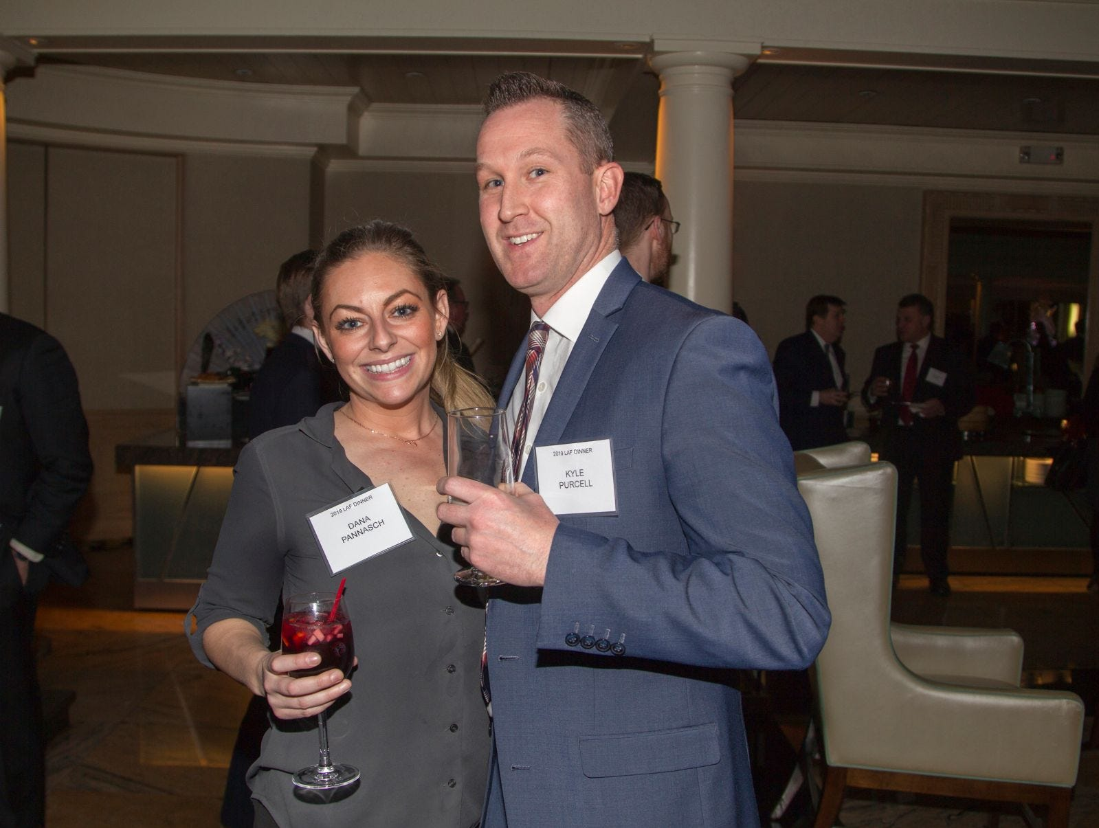 Dana Pannasch, Kyle Purcell. Eva's Village hosted its second annual Lawyers, Accountants and Financial Professionals Benefit Dinner at Westmount Country Club in Woodland Park. 02/21/2019