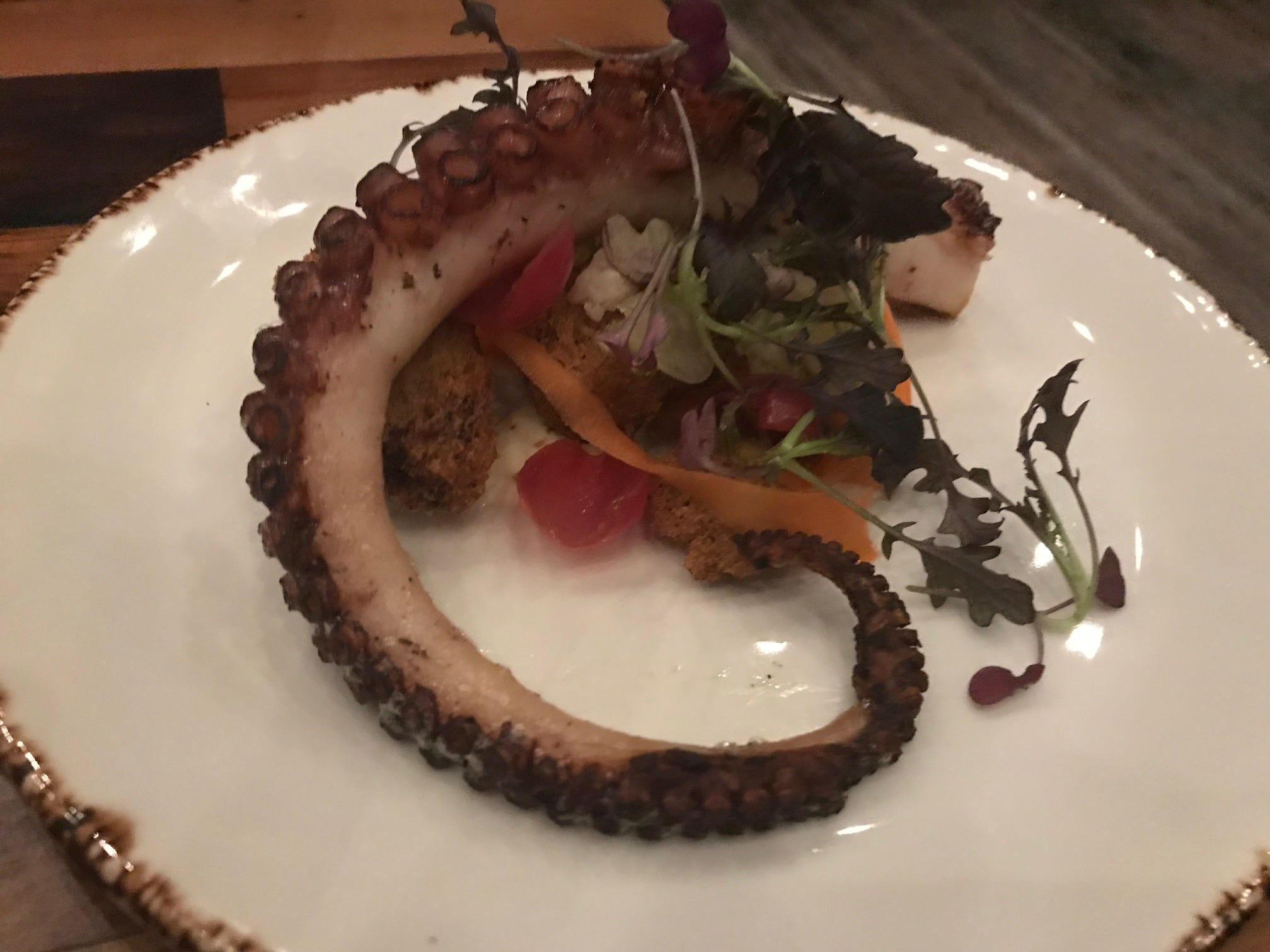 Octopus at Felina