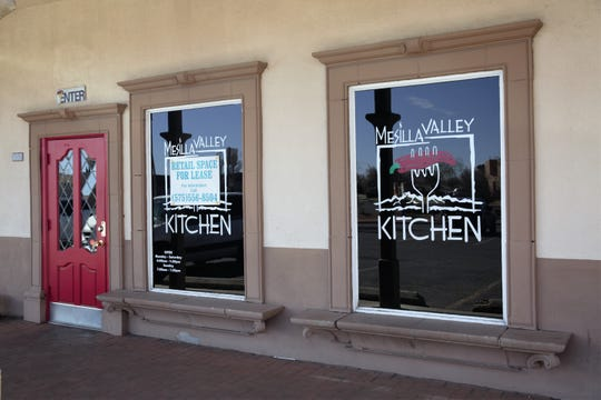 "Mesilla Valley Kitchen, closed since Feb. 11, 2019, has a ""for lease"" sign near its entrance on Feb. 21. Through the window, tables remain set up with napkins and cutlery as if ready to open."