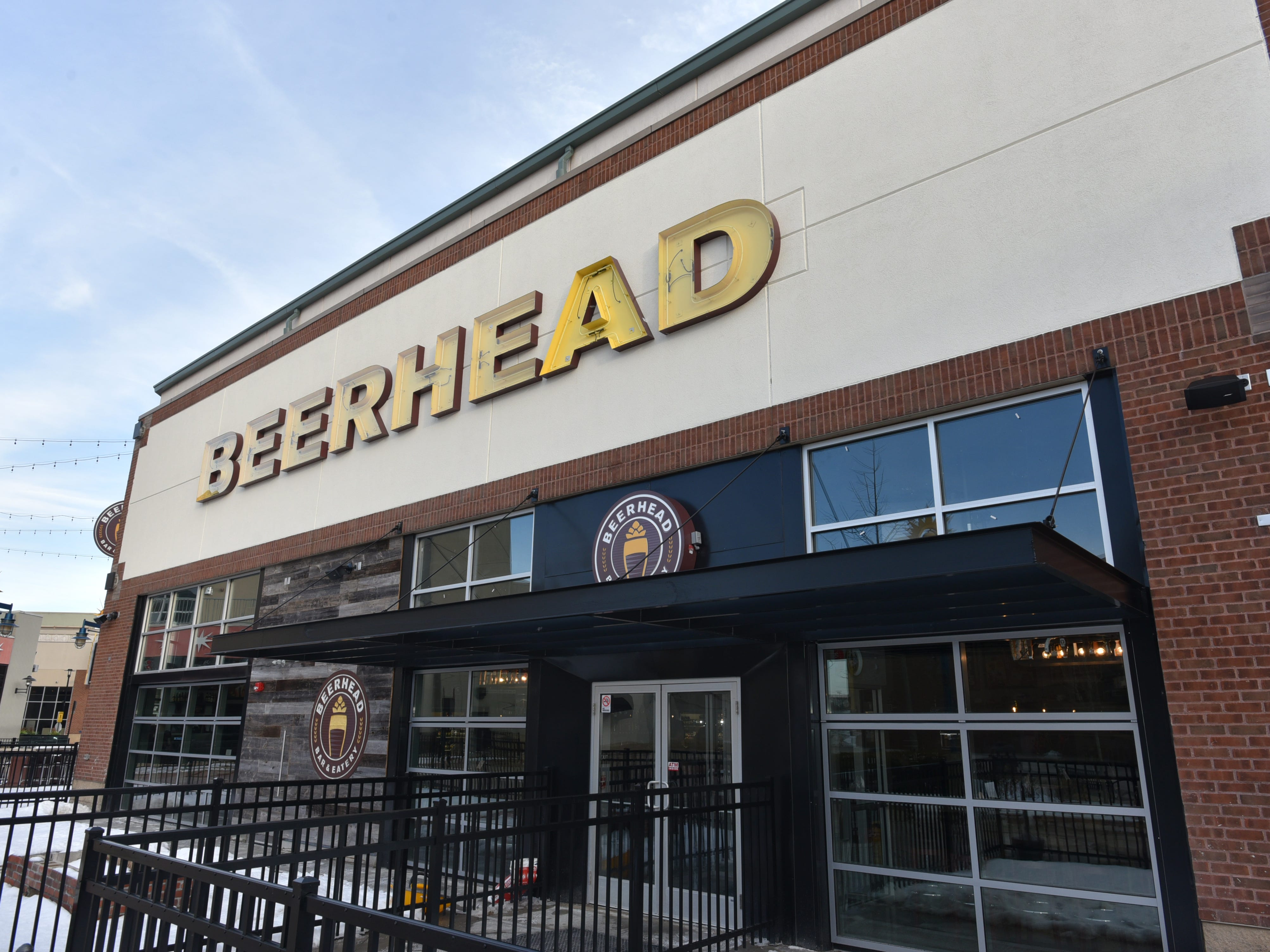 The new Beerhead pub at Novi's Twelve Mile Crossing at Fountain Walk.