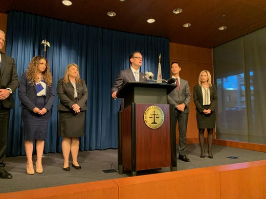 Riverside County District Attorney Mike Hestrin announces sentence for David and Louise Turpin.