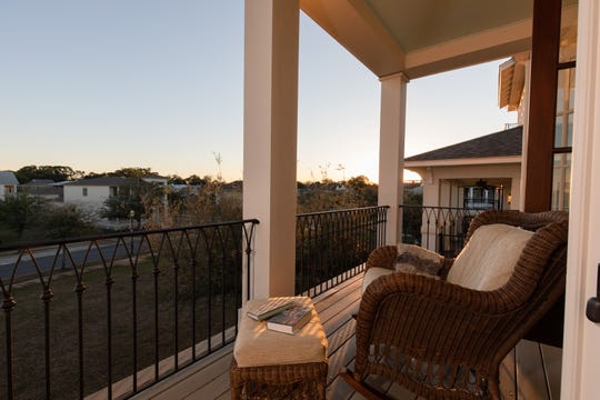 Located in the exclusive Aragon subdivision, this home at 636 E. Romana St. in Pensacola is an architectural gem with panoramic views from the Pensacola skyline to the Bay Bridge.