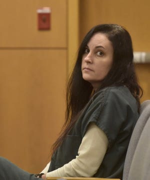 Ashley McArthur was sentenced to seven years in prison Thursday for racketeering and organized fraud. McArthur is also charged with first-degree murder in the 2017 death of Taylor Ashley Wright, 33.