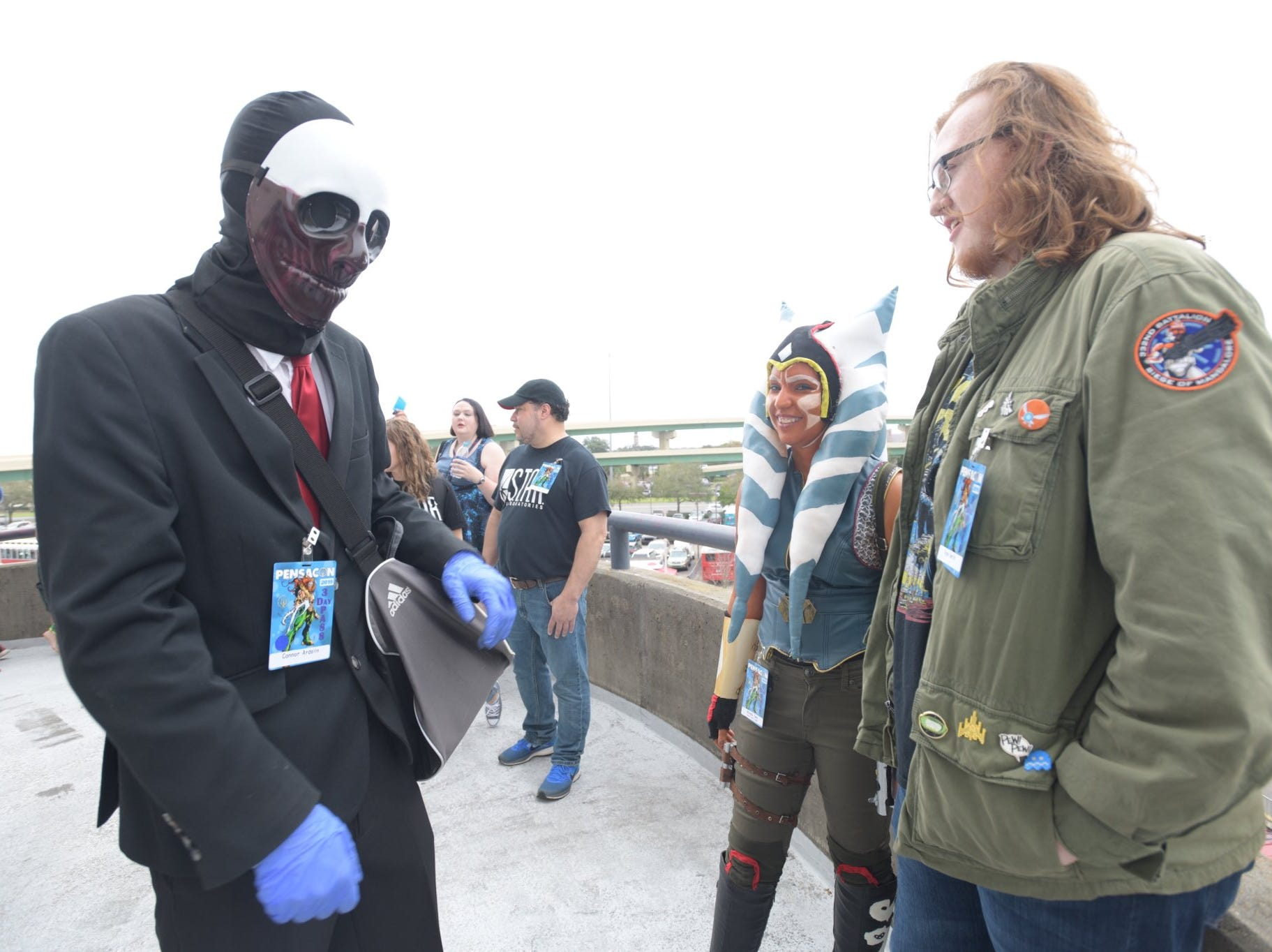 Pensacon 2019 kicks off with a bang Friday, Feb. 22, 2019, as hundreds of fans descend upon the Pensacola Bay Center to hang out with like-minded fans, meet celebrity guests and more.