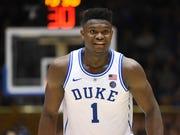 Duke forward Zion Williamson.