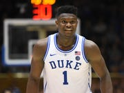 Duke forward Zion Williamson.