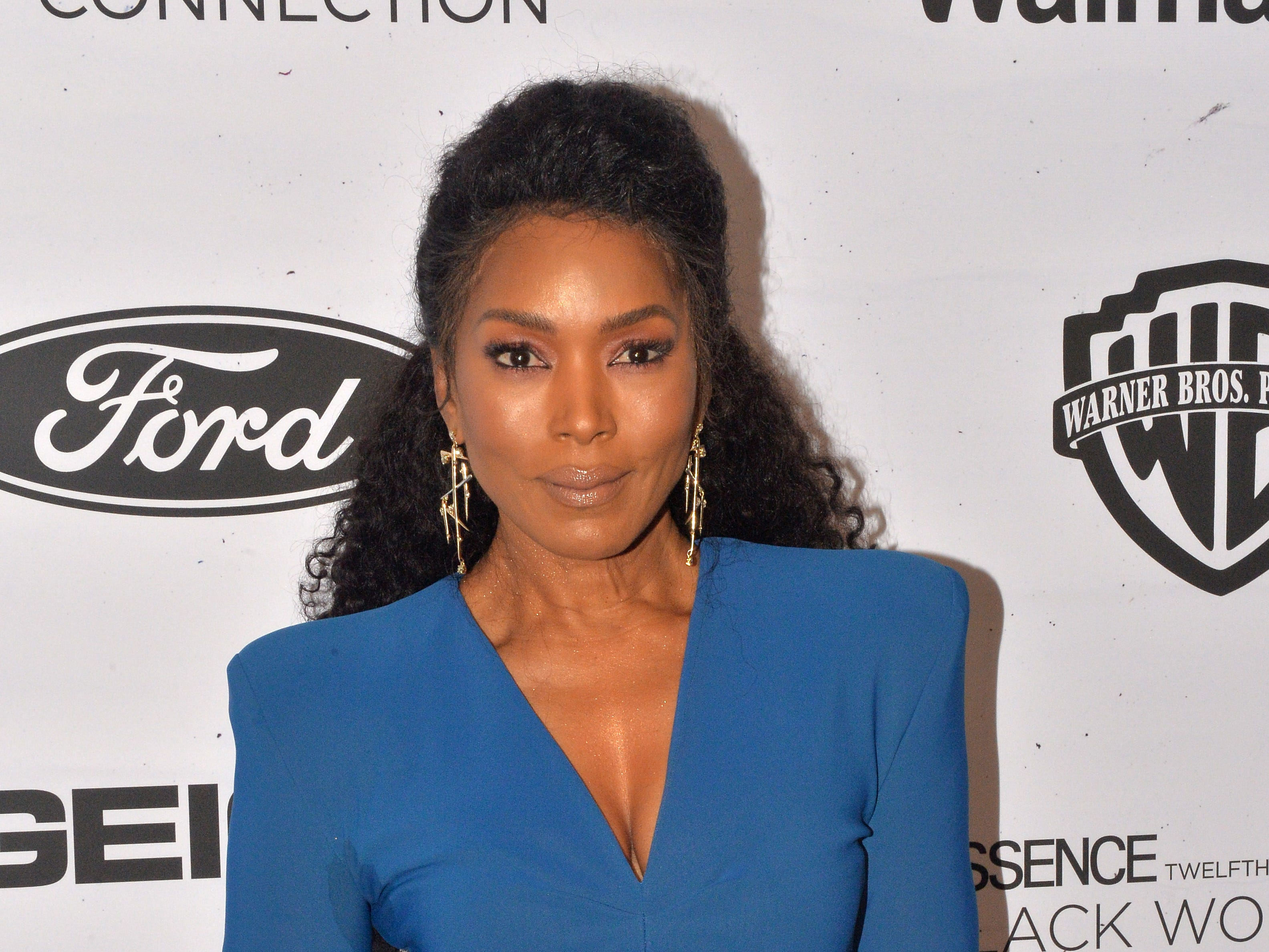 BEVERLY HILLS, CALIFORNIA - FEBRUARY 21: Angela Bassett arrives at the 2019 Essence Black Women In Hollywood Awards at the Beverly Wilshire Four Seasons Hotel on February 21, 2019 in Beverly Hills, California. (Photo by Jerod Harris/FilmMagic) ORG XMIT: 775282713 ORIG FILE ID: 1131258381