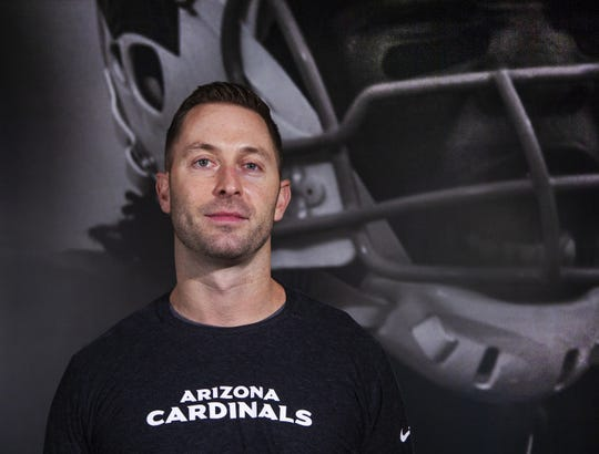 Cardinals coach Kliff Kingsbury is looking forward to his first season with the team.