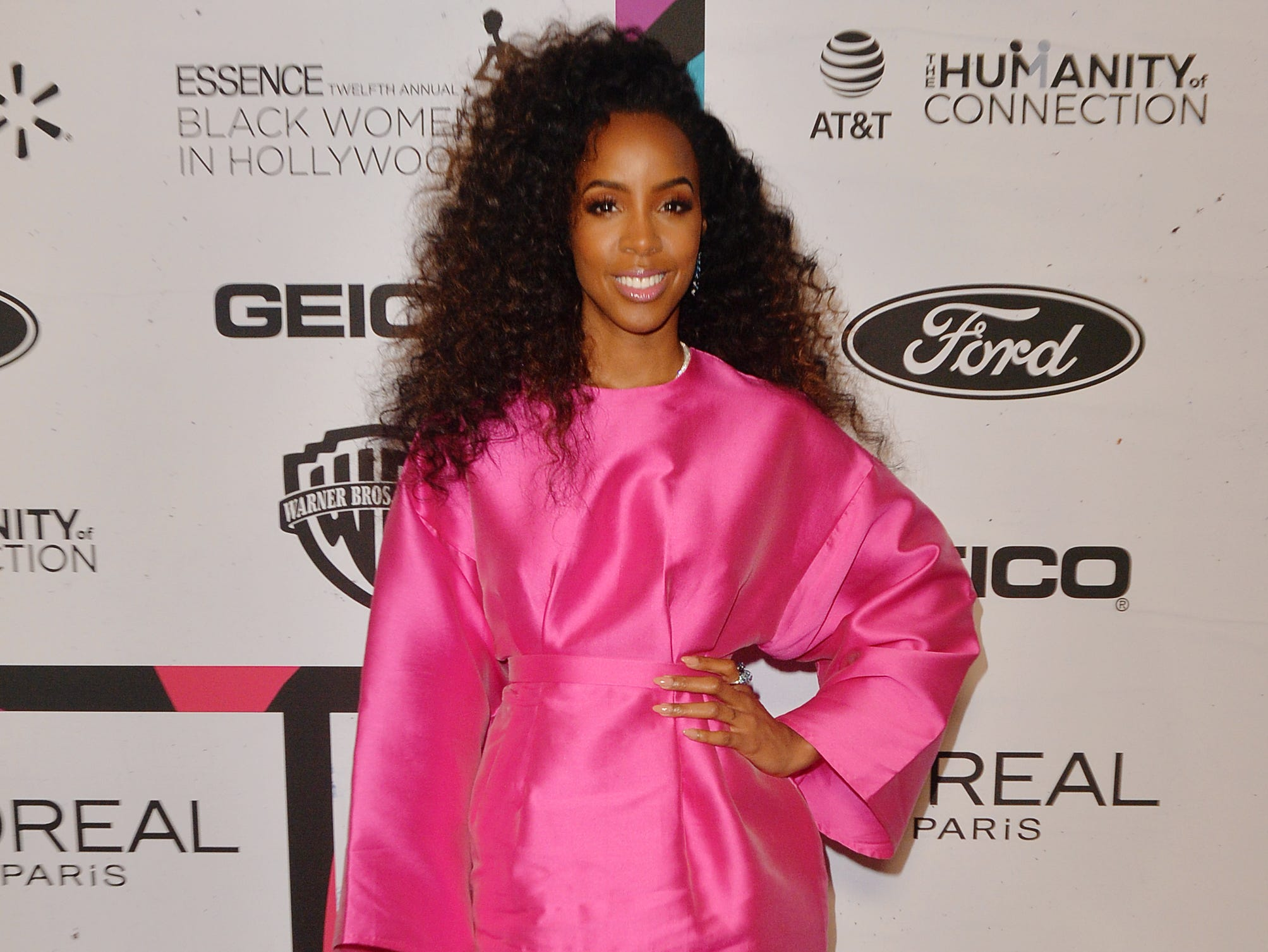 BEVERLY HILLS, CALIFORNIA - FEBRUARY 21: Kelly Rowland arrives at the 2019 Essence Black Women In Hollywood Awards at the Beverly Wilshire Four Seasons Hotel on February 21, 2019 in Beverly Hills, California. (Photo by Jerod Harris/FilmMagic) ORG XMIT: 775282713 ORIG FILE ID: 1131259535