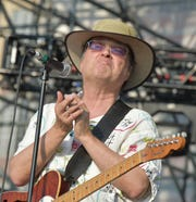 Gordon Gano of Violent Femmes performs at JBL Live at Pier 97 on July 1, 2015 in New York City.