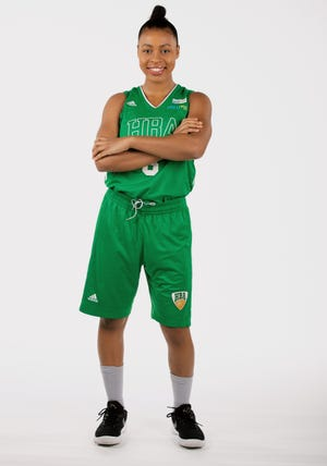 Finnish guard Sara Bejedi recently committed to Arizona State women's basketball in part because her favorite WNBA player is former Sun Devil and Phoenix Mercury guard Briann January.