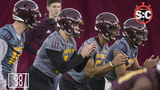 azcentral sports Katherine Fitzgerald and Michelle Gardner discuss ASU spring football and how the QB competition is working out.