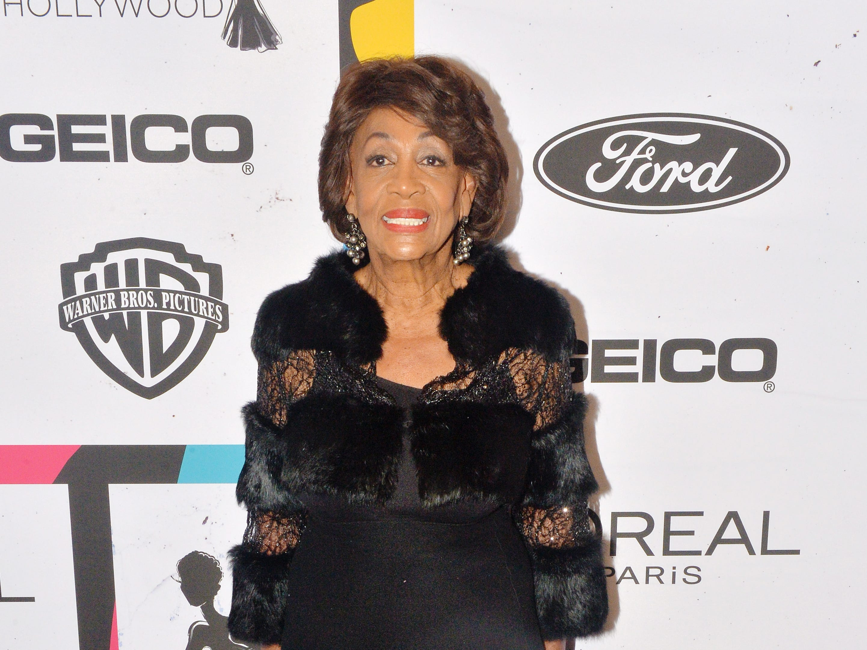 BEVERLY HILLS, CALIFORNIA - FEBRUARY 21: Congresswoman Maxine Waters arrives at the 2019 Essence Black Women In Hollywood Awards at the Beverly Wilshire Four Seasons Hotel on February 21, 2019 in Beverly Hills, California. (Photo by Jerod Harris/FilmMagic) ORG XMIT: 775282713 ORIG FILE ID: 1131253889