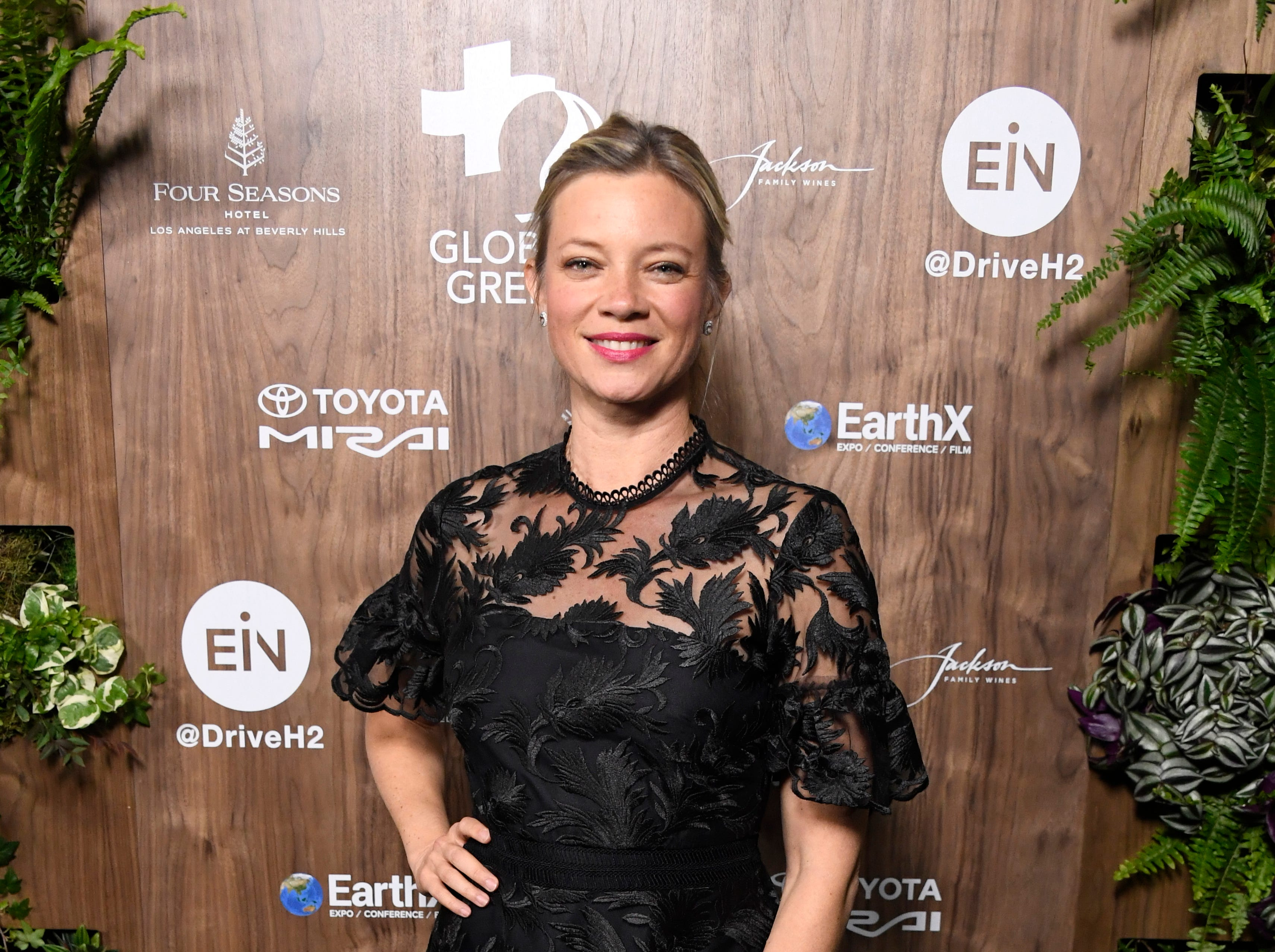 LOS ANGELES, CALIFORNIA - FEBRUARY 20:  Amy Smart attends the Global Green 2019 Pre-Oscar Gala  at Four Seasons Hotel Los Angeles at Beverly Hills on February 20, 2019 in Los Angeles, California. (Photo by Frazer Harrison/Getty Images) ORG XMIT: 775298110 ORIG FILE ID: 1131076818