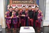 """El grupo mexicano Enigma Norteño cumple 15 años y para celebrarlo lanza """"Que siga la fiesta"""", un disco de duetos con famosos colegas"""