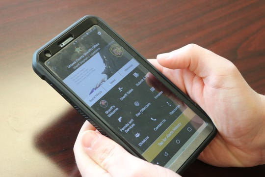 The Ottawa County Sheriff's Office launched a free new mobile app, seen pictured here, for iOS and Android devices that is available now.
