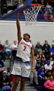 Cameron Gallon scored 13 points in the second half in York High's win over Northeaster.  John A. Pavoncello photo