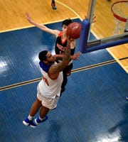 York High's Marquise McClean scored a game-high 22 points and grabbed seven rebounds in the Bearcats' win over Northeastern.  John A. Pavoncello photo