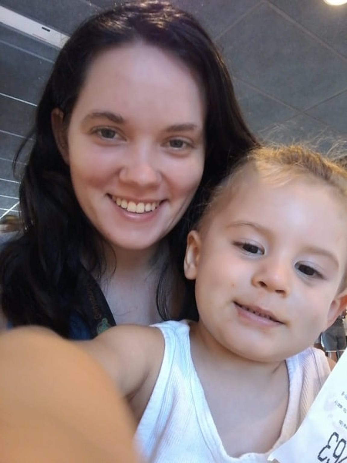"""Leah Mullinix, 22, of York, is seen with her late son, Dante. She described him as a """"mama's boy"""" and a """"ladies' man."""" """"I love my son,"""" she said."""