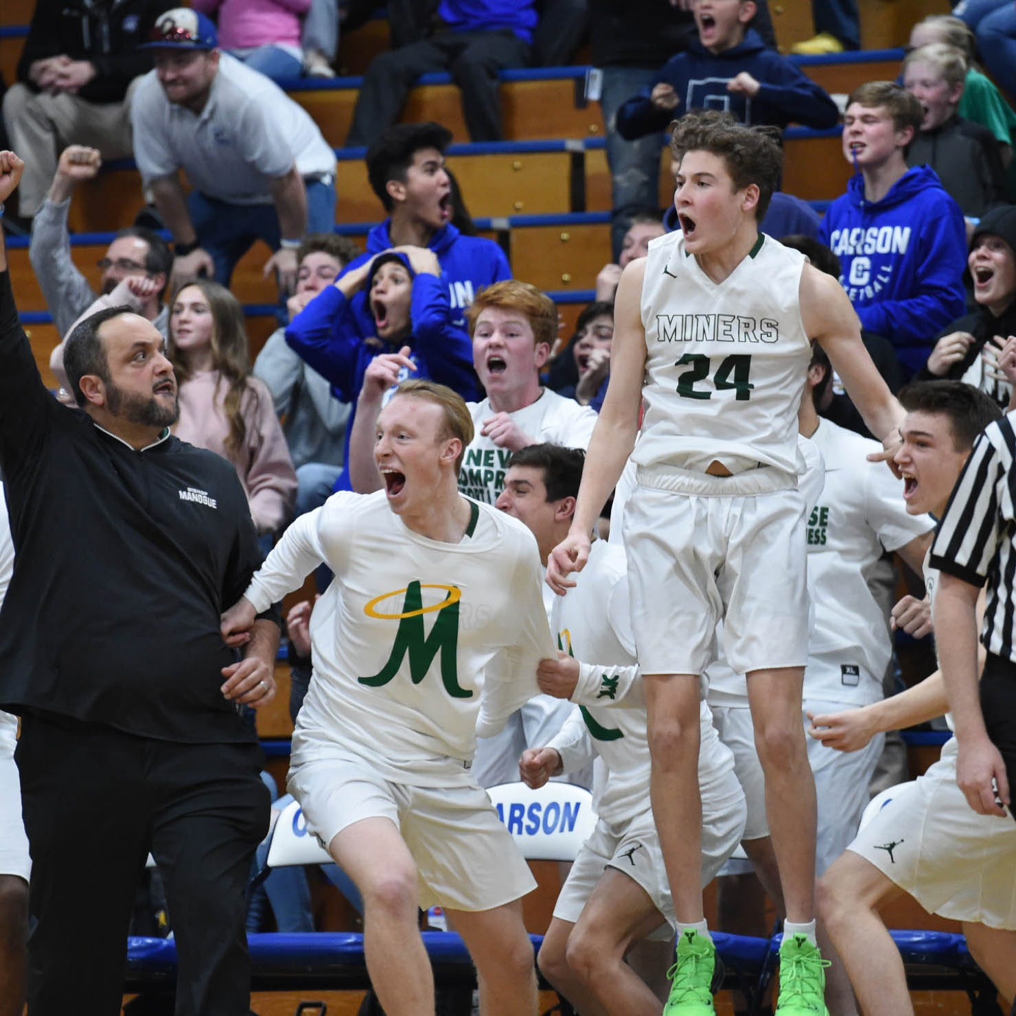 Boys basketball: Bishop Manogue, Spanish Springs advance to title game