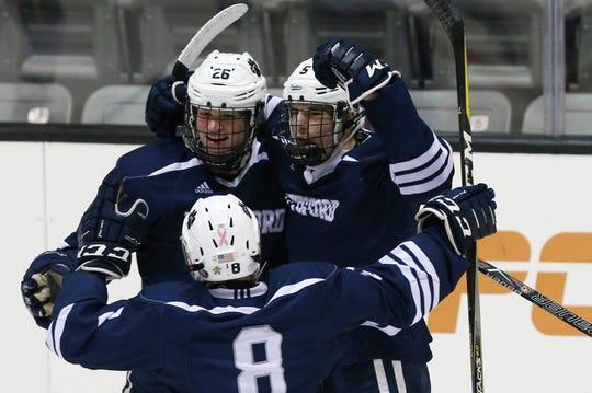 2388242ca Pittsford defense stymies McQuaid in 4-2 Class A hockey semifinal victory