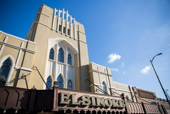 The Elsinore Theatre, seen her on Feb. 21, 2019, remains a historic landmark in downtown Salem.
