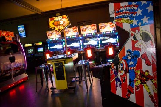 The Coin Jam, an arcade bar, in downtown Salem on Thursday, Feb. 21, 2019.