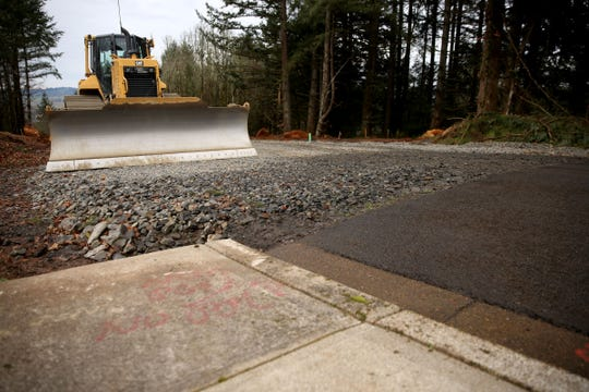Construction of Westwood Heights in Turner, a long-debated 47-unit subdivision, may be delayed by a decision by the Oregon Land Use Board of Appeals that says the city did not adequately address the steep grades on the proposed lots. Photographed in Turner on Friday, Feb. 22, 2019.