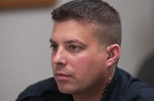 Salem Police Officer Abraham Dedek is in danger of having his police certification revoked for life after being accused of having a sexual relationship with a parent of a student while on duty.