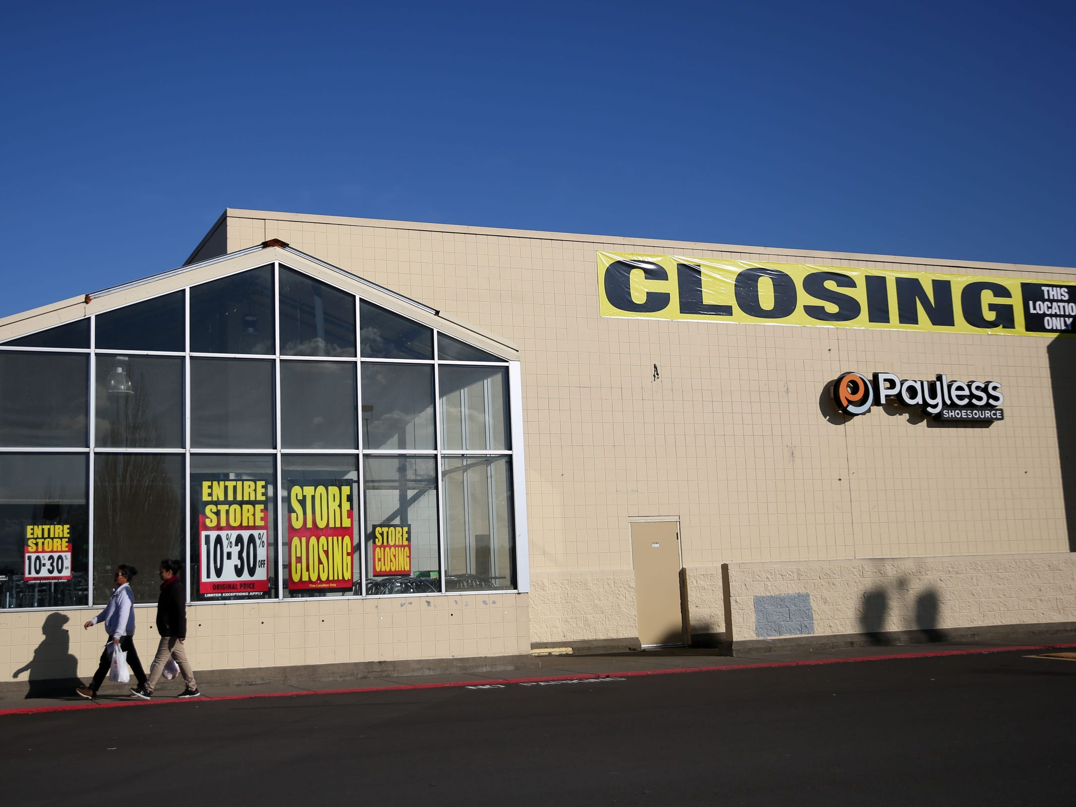 Shopko on Lancaster Dr. SE in Salem will close in May along with 250 other locations across the country. Photographed in Salem on Thursday, Feb. 21, 2019.