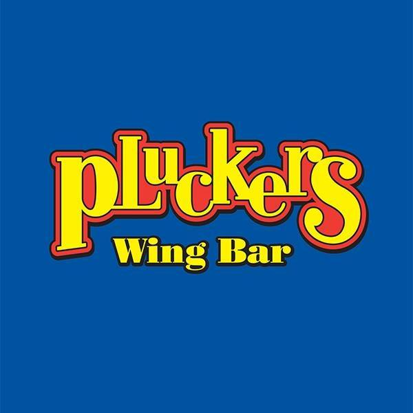 Pluckers Wing Bar's logo.
