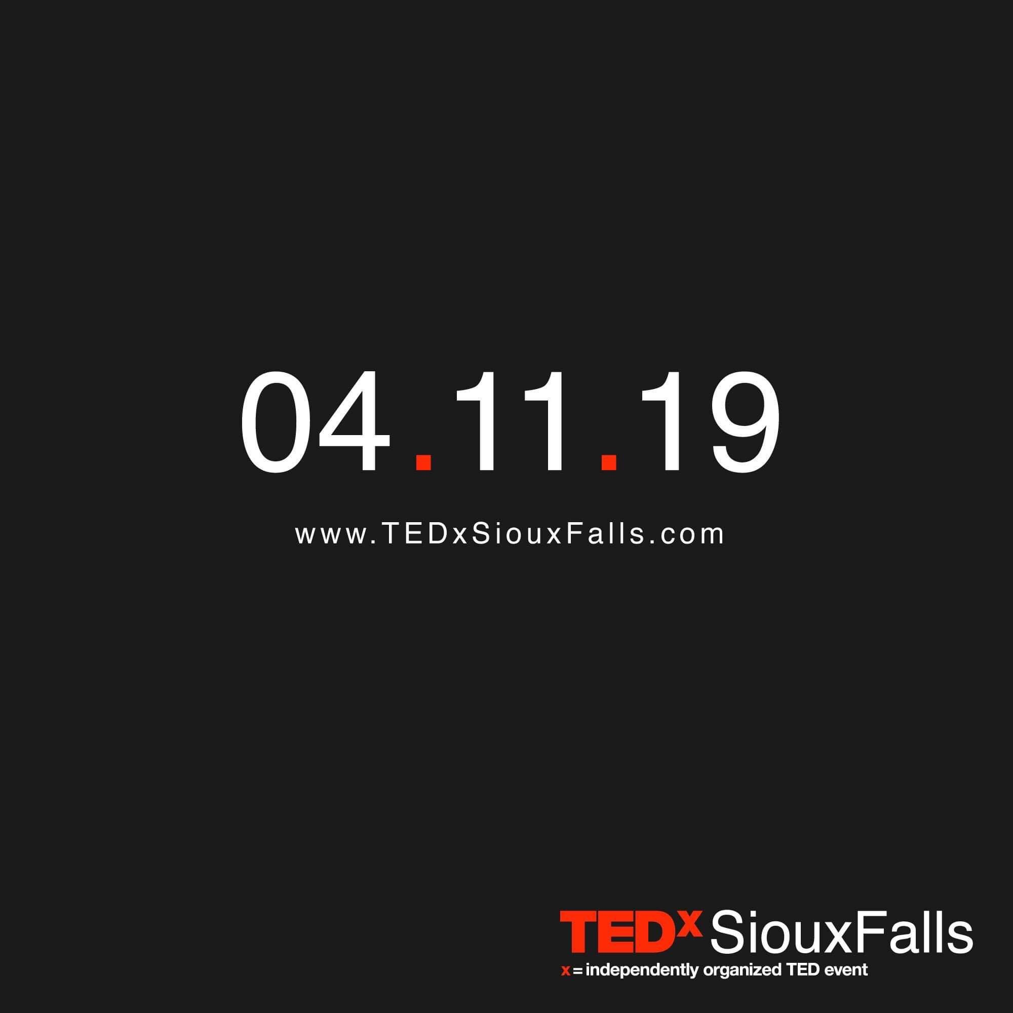 TEDx Sioux Falls is back, for the first time since 2014