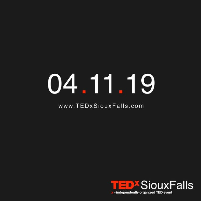 The announcement image for the reborn TEDx Sioux Falls event.