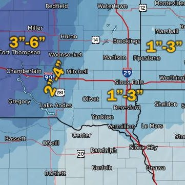 NWS: Two weekend snow events could be compounded by strong wind
