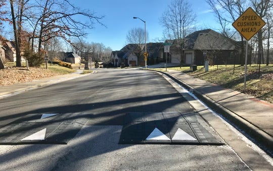 Answer Man: Why did speed cushions suddenly appear on East River Oaks Lane, and a nearby street, in Springfield?