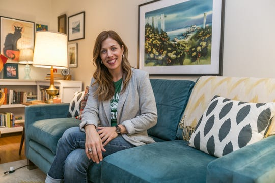 Adie Williams says she's had a great time decorating her Rountree cottage, but it's time to move on to a much larger project in the neighborhood.