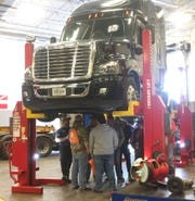 High school students learn about careers that involve working with diesel engines at the EPIC event Friday, Feb. 22 at St. Cloud Technical & Community College.