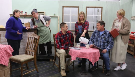 "Performances of ""The Spitfire Grill"" will be Feb. 28 and March 1-3 at the Blue Heron Supper Club in Cold Spring."