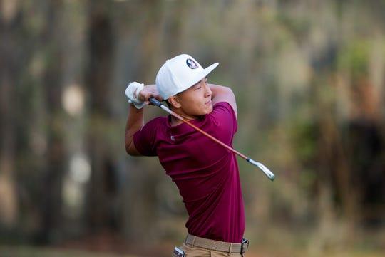 FSU sophomore John Pak is entering this weekend's Seminole Intercollegiate having won his last two tournaments.