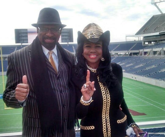 Dr. Leroy Powell Jr. with wife Dr. Pam Powell.