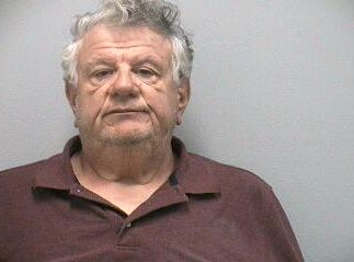 Frank Dusatko, 66, of Hobe Sound, charged with two counts each of soliciting prostitution and use of structure or conveyance for prostitution.