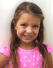 Amelia Tuttle, 4, of Tampa