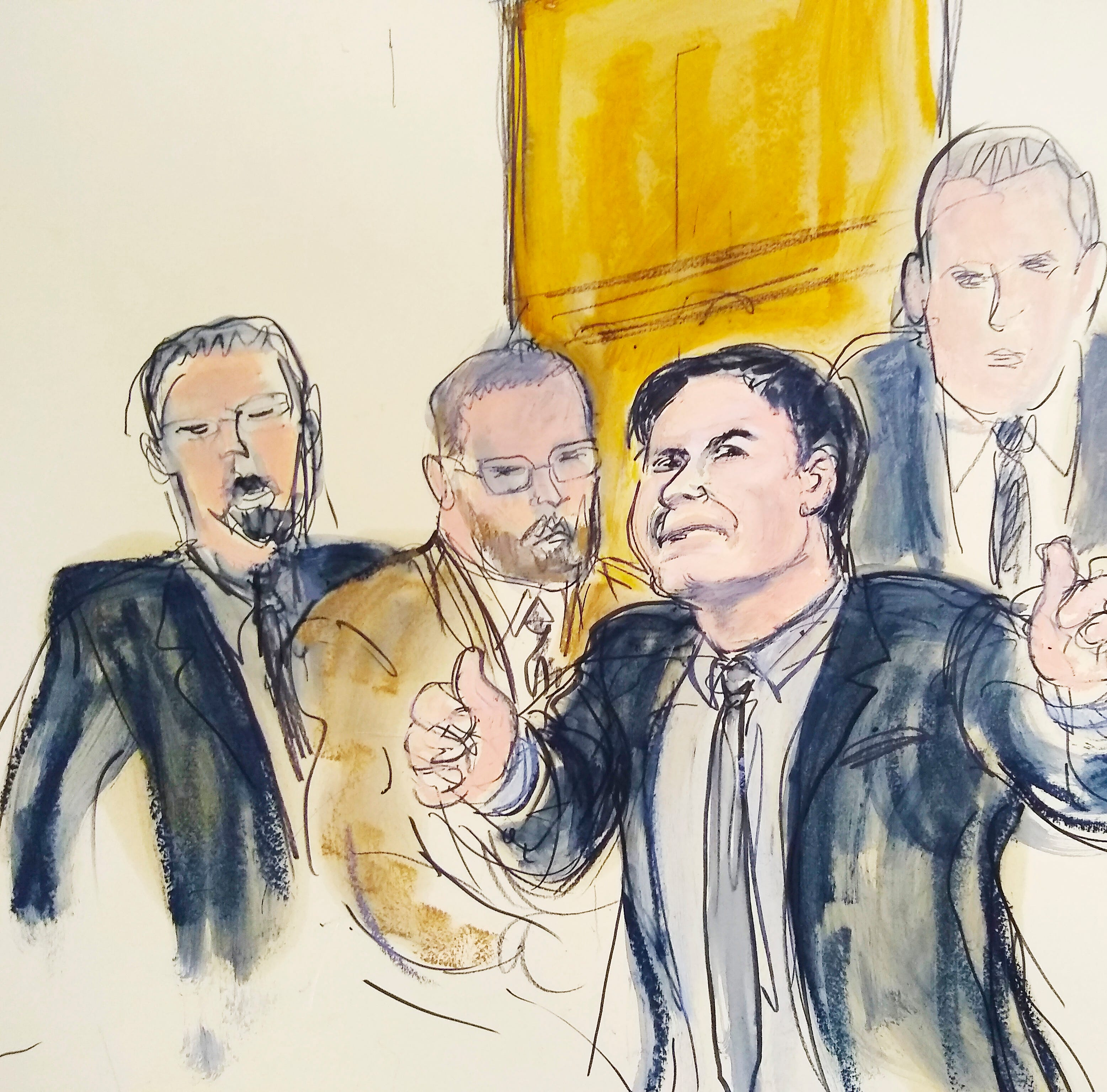 El Chapo trial filings show witness admitted sex with underage girls, occult beliefs