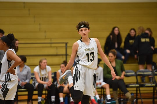 Mia Foresti, a junior, is part of a well-balanced Oak Park team, averaging 7.6 points per game.