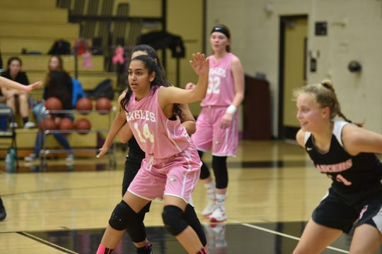 Rhea Bhutada, a junior, has averaged 5.8 points and 5.5 rebounds for Oak Park, which will play for the CIF-SS Division 4AA title Saturday at Azusa Pacific University.