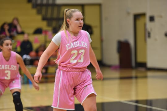 Lynsay Garrett finished with 18 points in Oak Park's second-round state regional playoff game Thursday.